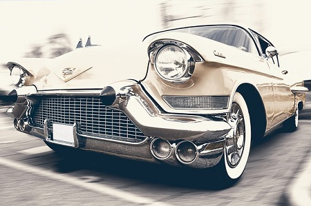 samochód klasyczny z USA