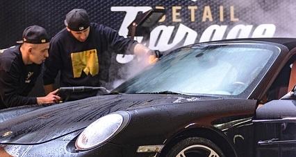 czyszczenia auta parowe